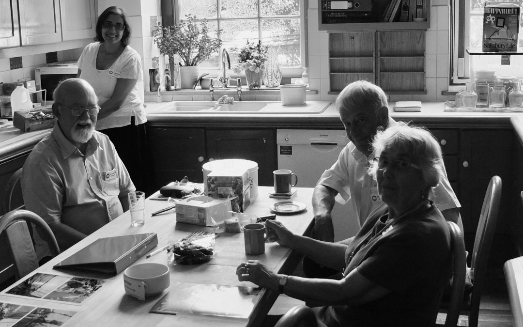 Volunteering at Arundells